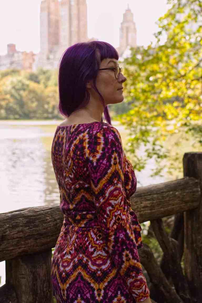 NYC Central Park Named Patterns Kielo Dress 1363